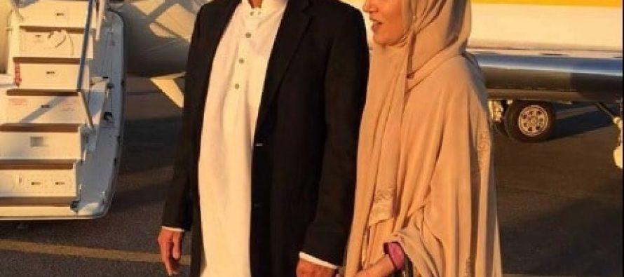 Imran Khan and Reham Khan Perform Umrah – Pictures