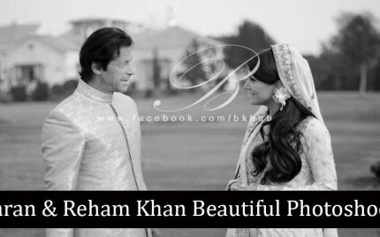 Imran khan and Reham Khan Beautiful Photoshoot