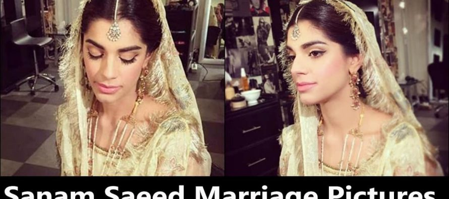 Sanam Saeed Marriage Pictures – Exclusive