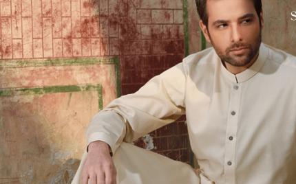 Meekal Zulfiqar photo shoot for a clothing brand