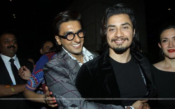 Ranveer Singh and Ali Zafar at the 59th Idea Filmfare Pre Awards Party
