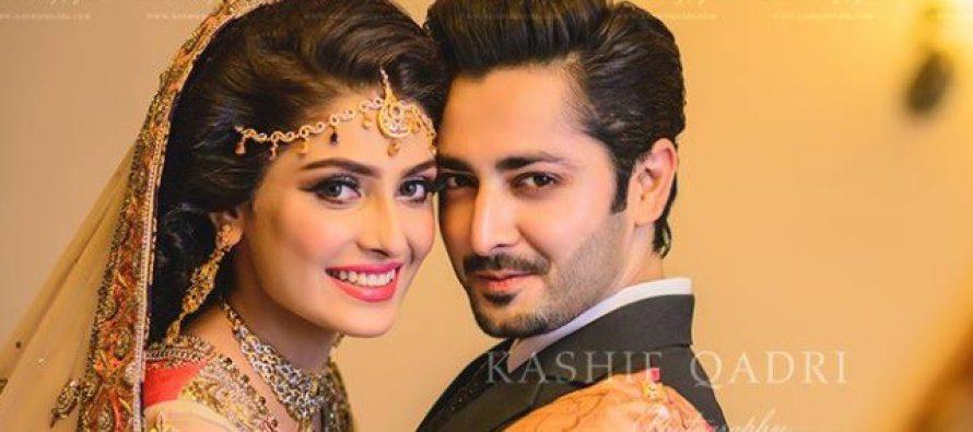 Ayeza Khan and Danish Taimoor Celebrate Their First Wedding Anniversary