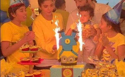 Nida Yasir and Yasir Nawaz Celebrate Their Son's First Birthday – Pictures