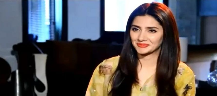 """I Feel Very lucky To Be In Pakistan As An Actor,"" Mahira Khan"