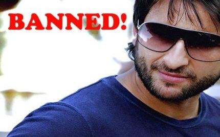 Pakistani Censor Board Bans Saif Ali Khan's Films Forever