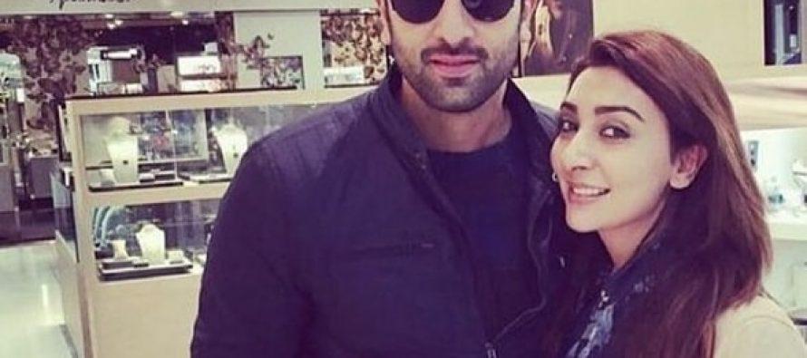 Ayesha Khan Meets Ranbir Kapoor And Katrina Kaif