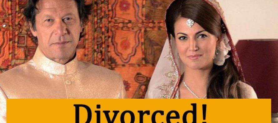 Imran Khan & Reham Khan Divorced