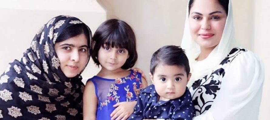 Veena Malik Meets Malala Yousufzai