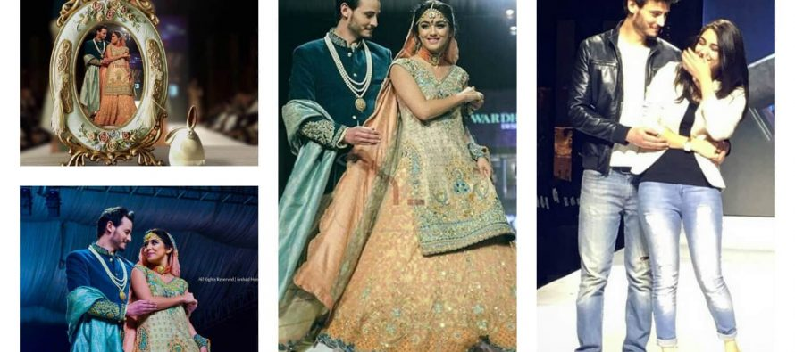 Diyar-e-Dil Jodi Reunites On The Ramp