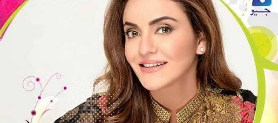 Nadia Khan Talks About Herself In Her First Show