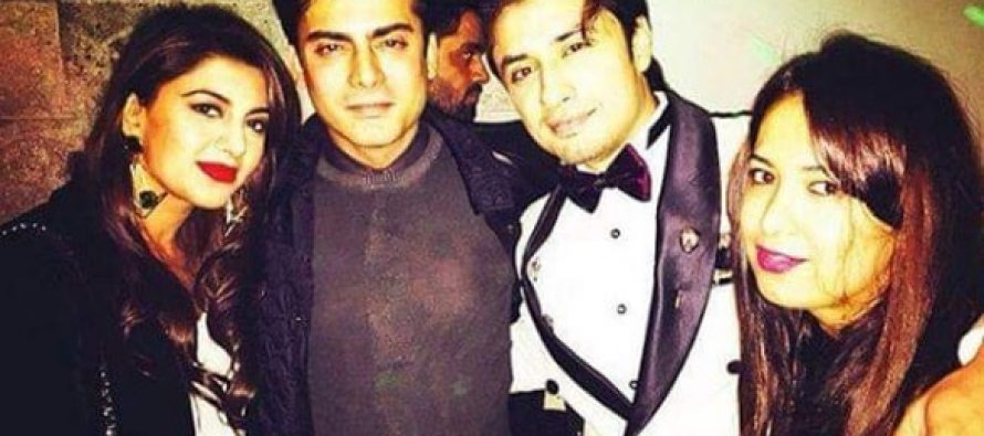 Ali Zafar Throws A Party For His Friends