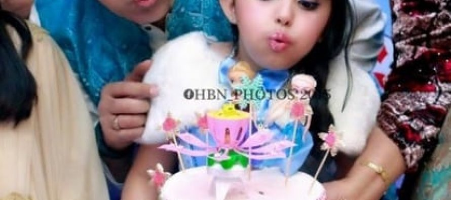 Javeria and Saud Celebrate Their Daughter's Birthday – Pictures