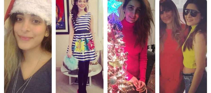 Pakistani Stars On Christmas – Pictures