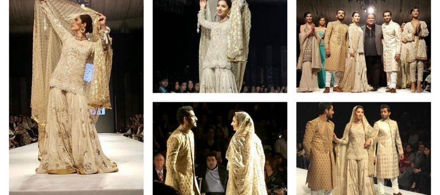 Mahira Khan Walks The Ramp For Umar Sayeed – Pictures