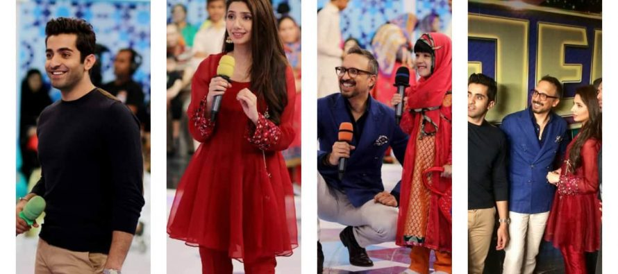"Ho Mann Jahan Team Makes ""Jeeto Pakistan"" Memorable"