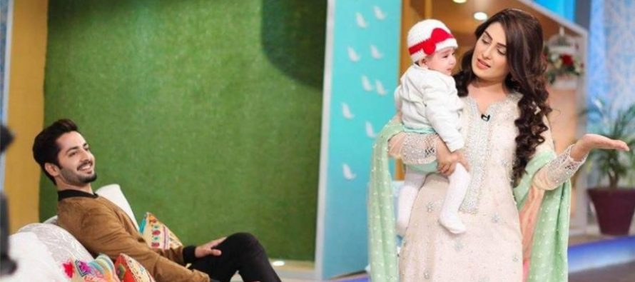 Ayeza, Danish and Hoorain Make Their First TV Appearance