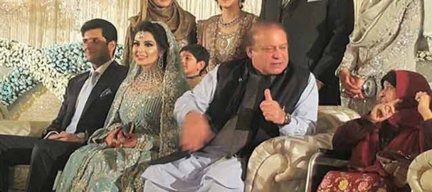 PM Nawaz Sharif's Grand Daughter's Valima Pictures