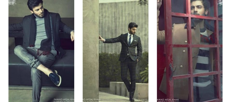Fawad Khan Looks Great In His Latest Photo Shoot