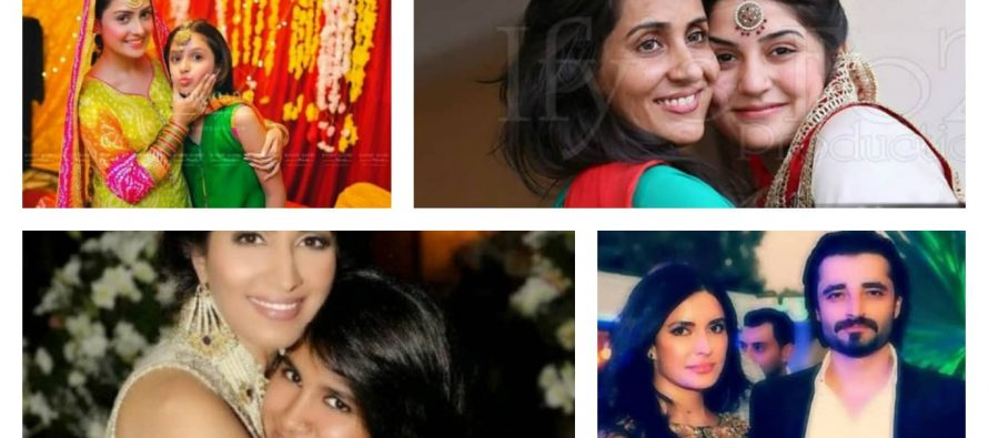 Pakistani Celebrities With Their Sisters