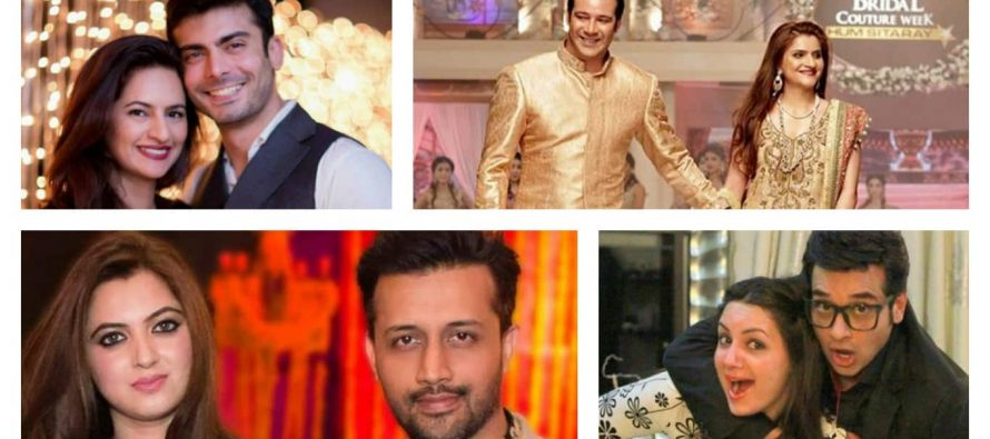 Pakistani Celebrities Whose Wives Are Always By Their Side