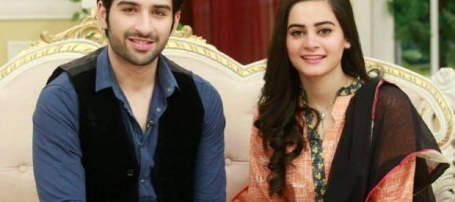 Aiman Khan & Muneeb Butt – Real Life Couple Beautiful Pictures