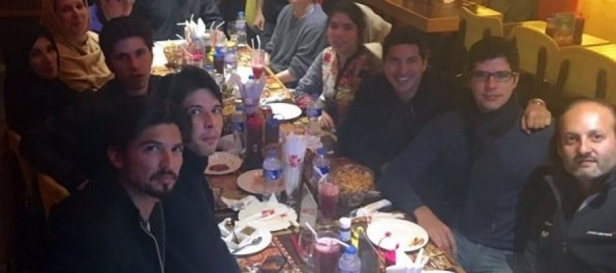 Imran Khan Spends New Year With Family – Pictures