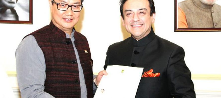 Adnan Sami Khan granted Indian citizenship