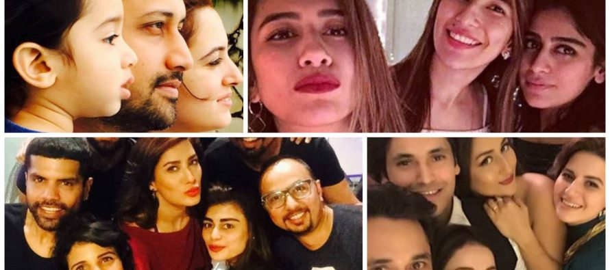 Pakistani Celebrities On New Year – Pictures