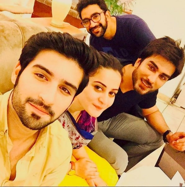 aiman khan muneeb butt real life couple beautiful pictures  sharetweetgoogle