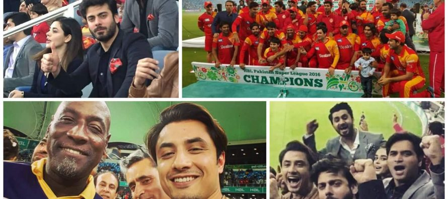 Memorable Moments From PSL Final – Pictures