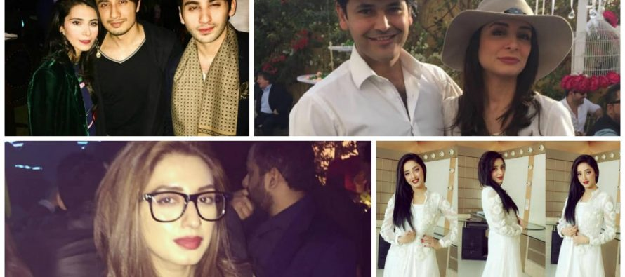Pakistani Celebrities On Valentine's Day – Pictures