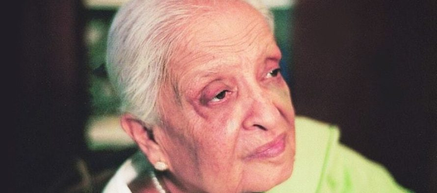 Fatima Surayya Bajia passed away