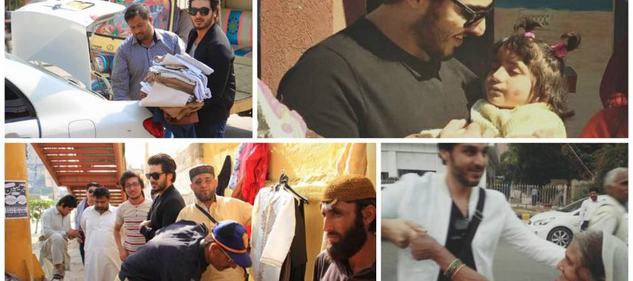 Ahsan Khan Continues His Mission To Serve Humanity