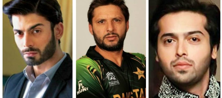 Celebrities Support Shahid Afridi