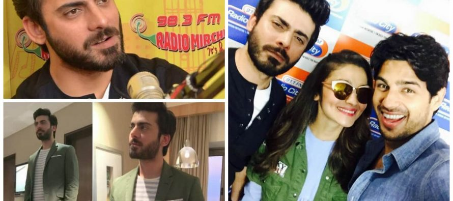 Fawad Khan Promotes Kapoor And Sons In Style!
