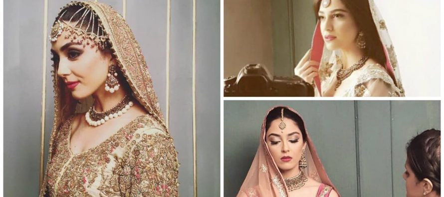 BTS Pictures Of Maya Ali's Latest Photo Shoot