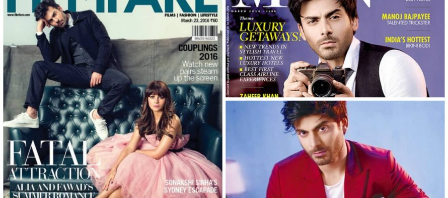 Fawad Khan On The Cover Of Indian Magazines