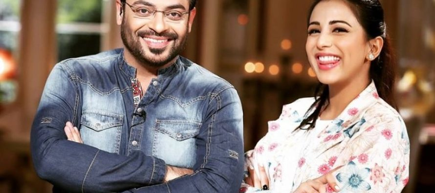 Ushna Shah Greatly Impressed By Aamir Liaquat