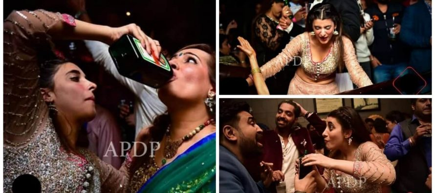 Urwa Hocane Caught in a Party in India – Pictures