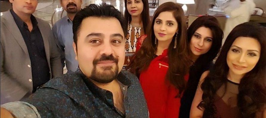 Stars Gather In Dubai For ARY Film Awards 2016
