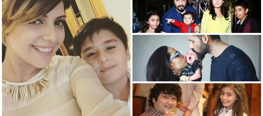 Pakistani Celebrities With Their Children – Pictures