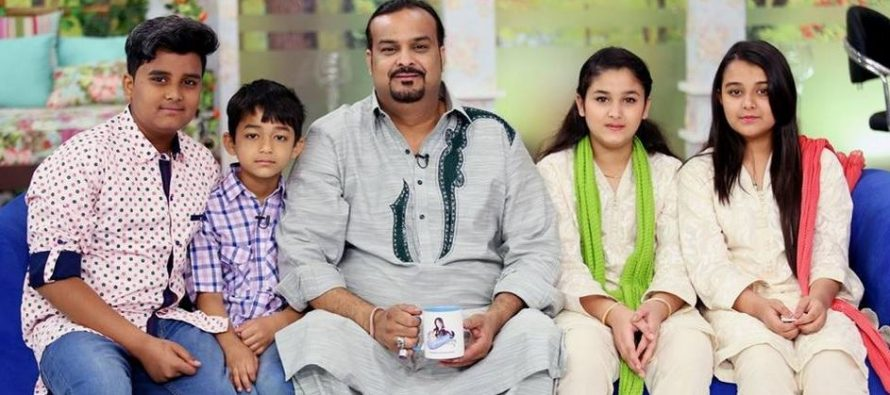 Memorable Family Pictures Of Amjad Sabri