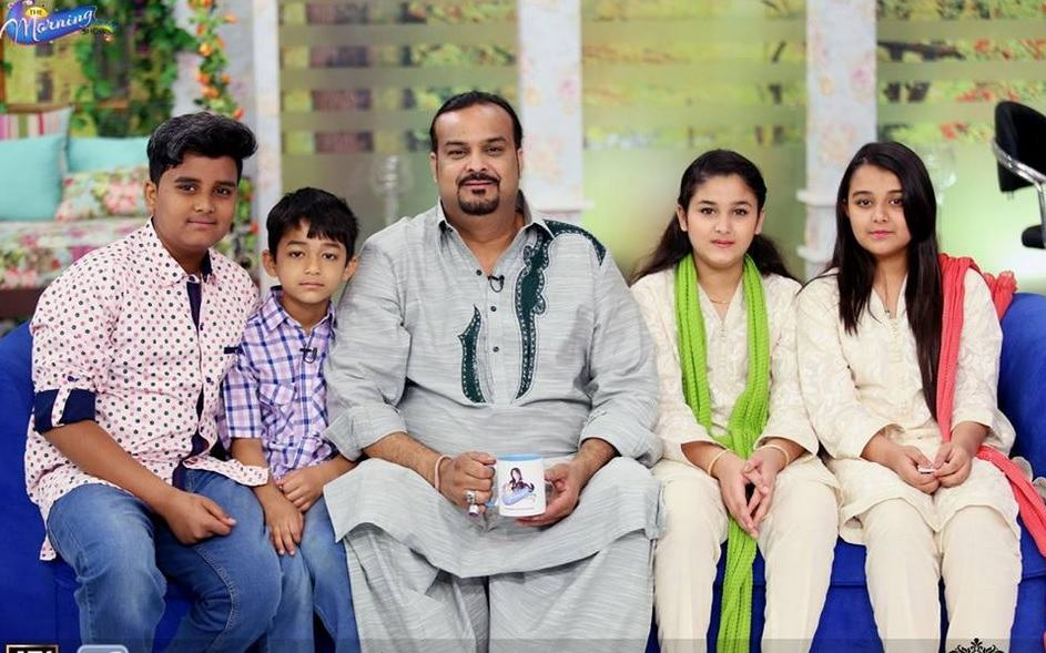 memorable family pictures of amjad sabri reviewitpk
