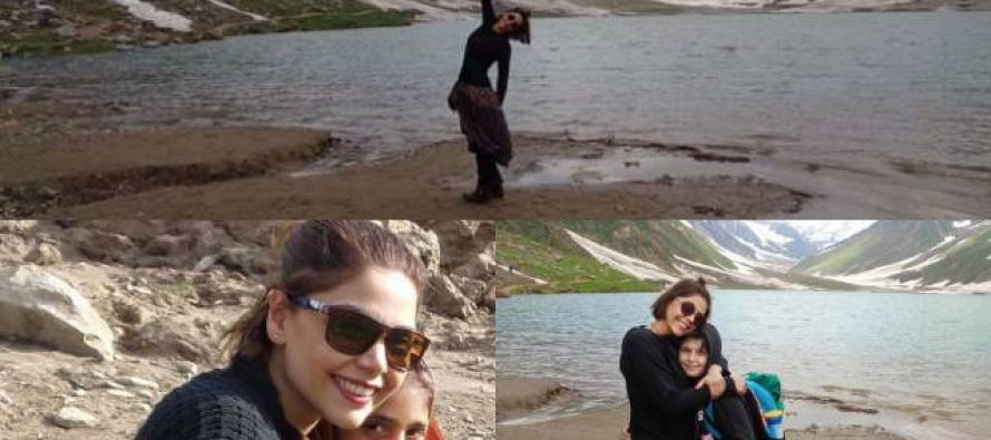 Hadiqa Kiani's Trip To The Northern Areas Of Pakistan