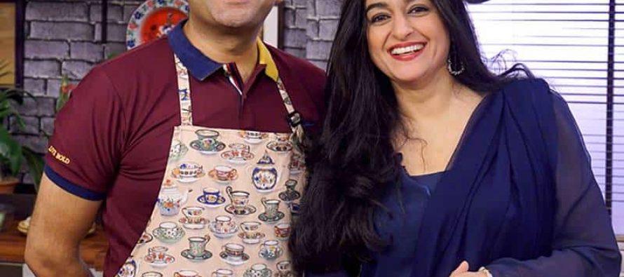 Nadia Jamil On Star Iftaar With Sarmad Khoosat