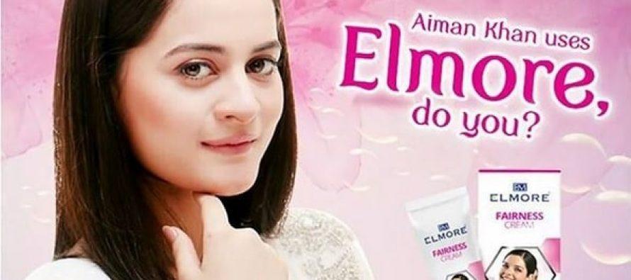 Aiman Khan Endorses A Fairness Cream