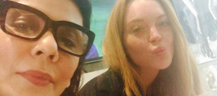 Nabila Working With Lindsay Lohan