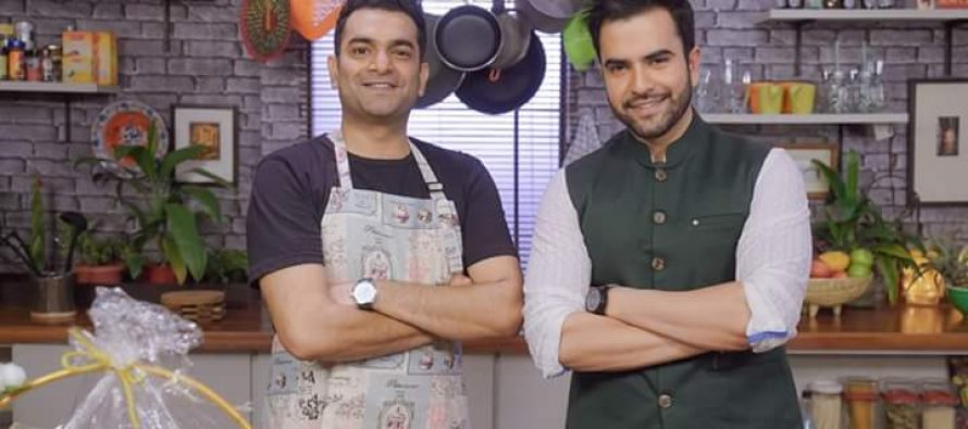 Junaid Khan On Star Iftaar with Sarmad Khoosat