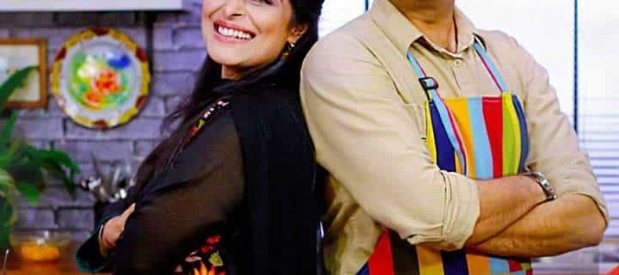 Nimra Bucha On Star Iftaar With Sarmad Khoosat