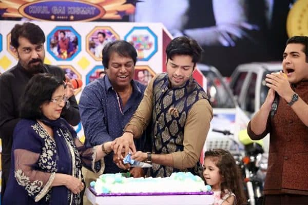 Fahad Mustafa Celebrates His Birthday | Reviewit.pk